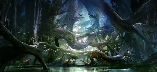 dinosaur_forest_by_fish032-d5zmuze